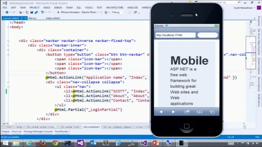 ASP.NET and Mobile