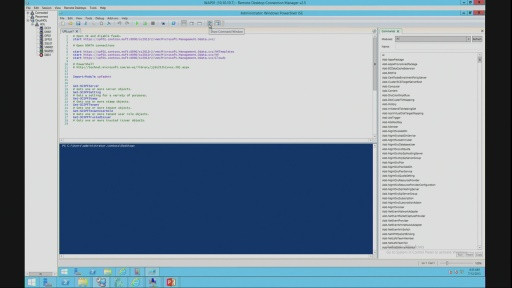 DEMO: Session 5 – Management APIs from Microsoft and Windows Server Enable Customization and Extensibility for Hosting Service Providers