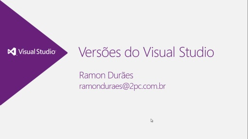 MVA ALM - Versões do Visual Studio