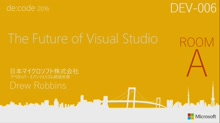 The Future of Visual Studio