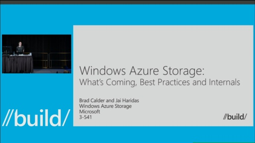 Windows Azure Storage: What's Coming, Best Practices, and Internals