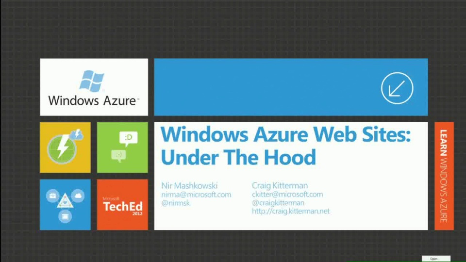 Windows Azure Web Sites: Under the Hood