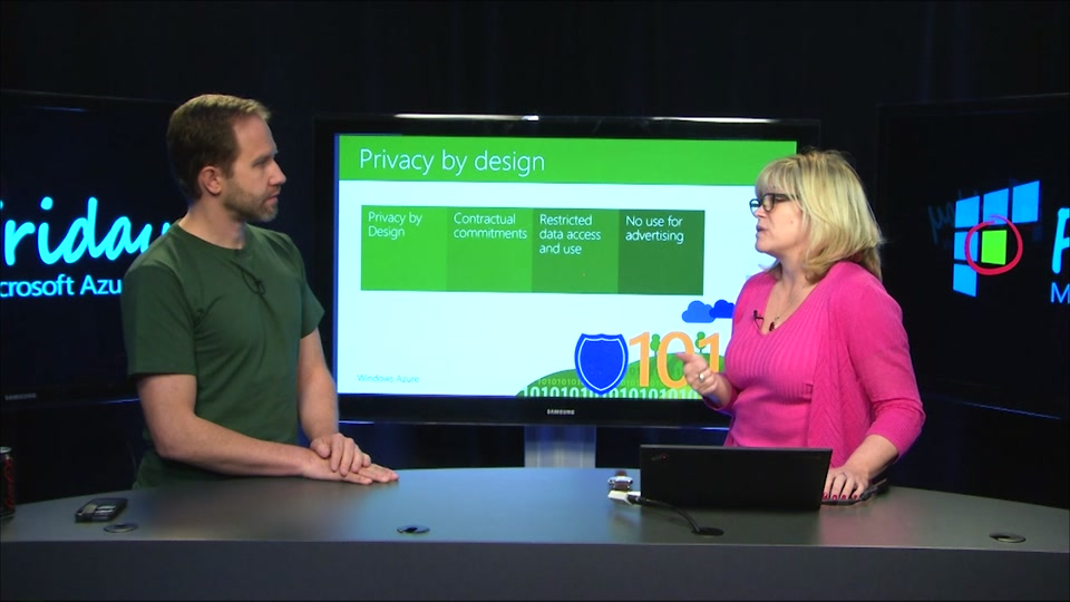 What does Azure do about Privacy?