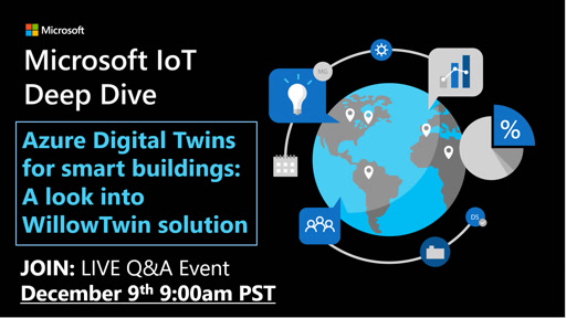 Azure Digital Twins for smart buildings: A look into WillowTwin solution
