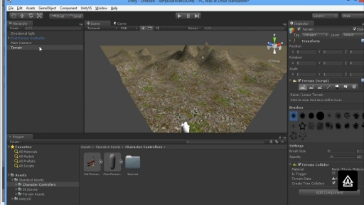 Gaming Engines for Windows 8: (05) Unity