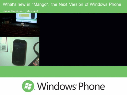 "What's new in ""Mango"", the Next Version of Windows Phone"