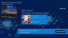Nano Server: The Future of Windows Server
