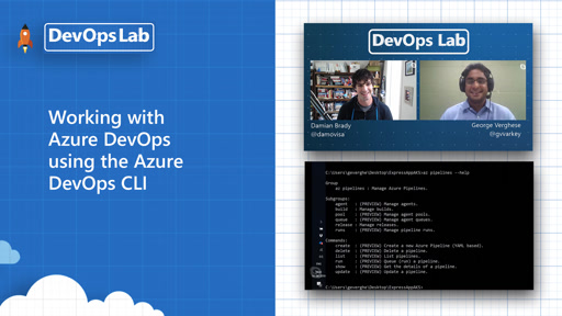 Working with Azure DevOps using the Azure DevOps CLI