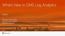 What's New in OMS Log Analytics