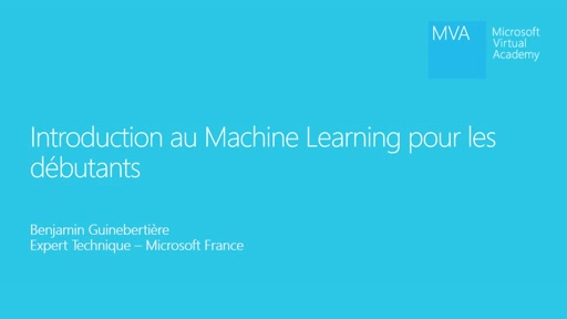 Cours MVA - Introduction au Machine Learning