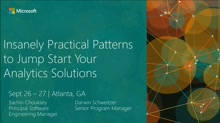 Insanely Practical Patterns to Jump Start Your Analytics Solutions