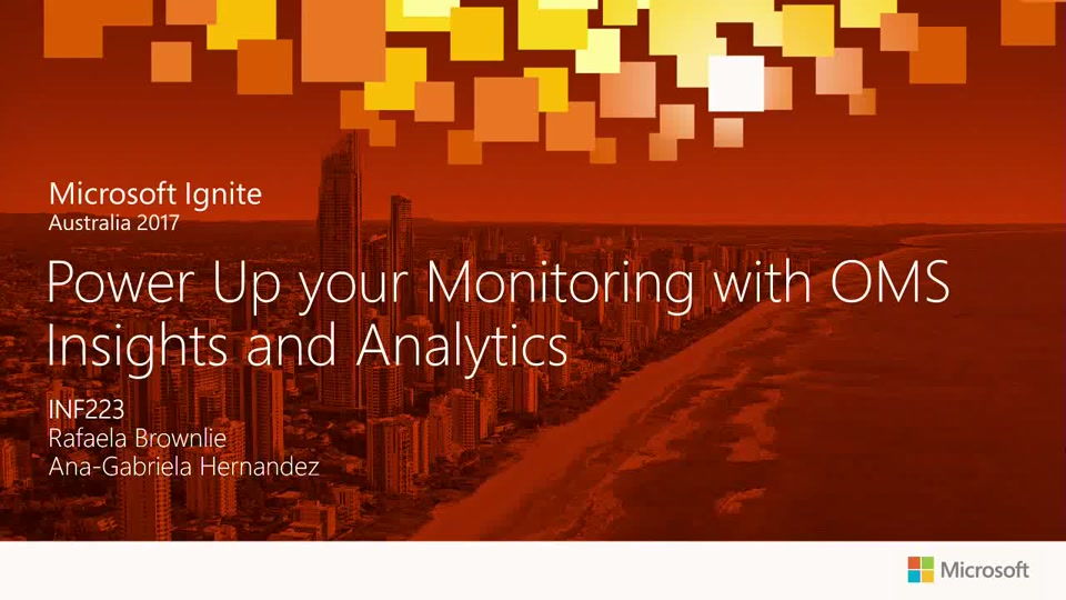 Power Up your Monitoring with OMS Insights and Analytics
