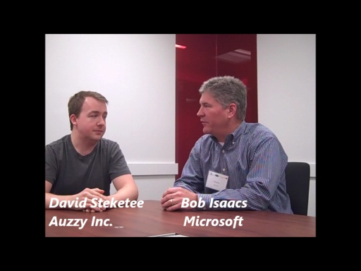 AzureCamp NYC -- Interview with David Steketee of Auzzy Inc.