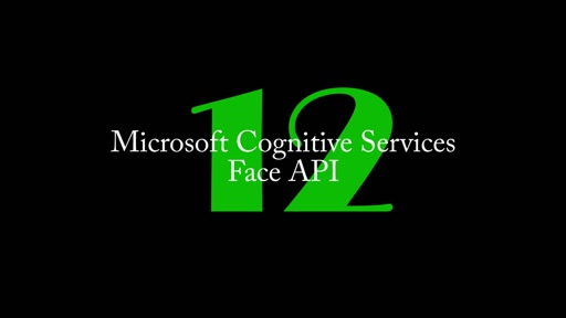 12: Cognitive Services - Face API