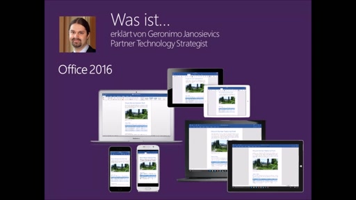 Was ist ... Office 2016
