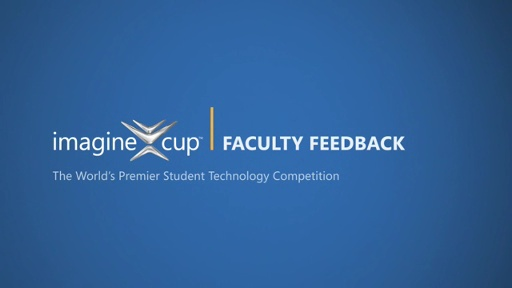 Imagine Cup Faculty Video