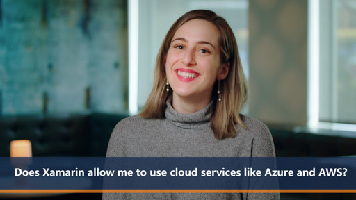 Does Xamarin allow me to use cloud services like Azure and AWS? | One Dev Question