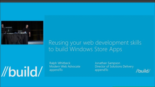 Reusing Your Web Development Skills in Windows Store Apps
