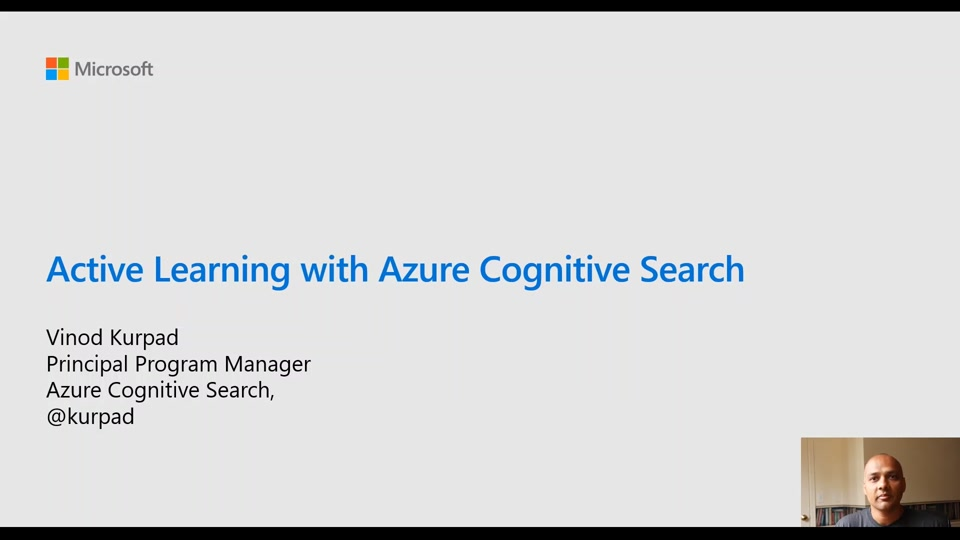 Active Learning with Azure Cognitive Search