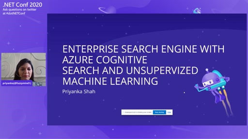 Enterprise Search Engine with Azure Cognitive Search and Unsupervised Machine Learning