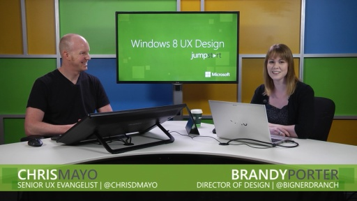 Windows 8 UX Design: (10) Animation