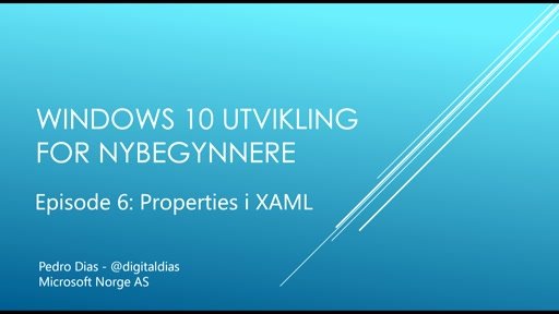 06 - XAML og Properties