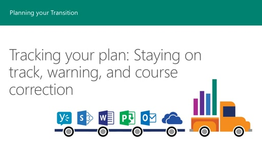 Session 9 – Tracking your plan: Staying on track, warning, and course correction
