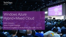 Mixed Cloud Apps mit Windows Azure Virtual Machines und Cloud Services