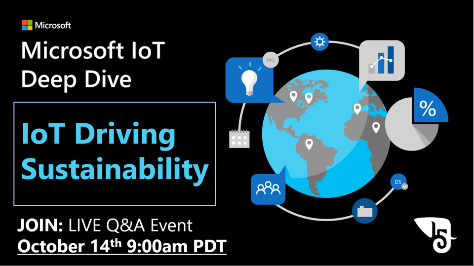 Deep Dive: IoT Driving Sustainability