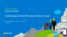 Creating Apps for the Web Using Node.js on Azure