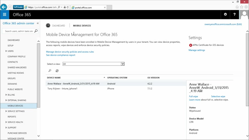 Microsoft Intune Core Skills: (03) Device Policies to Enable MDM
