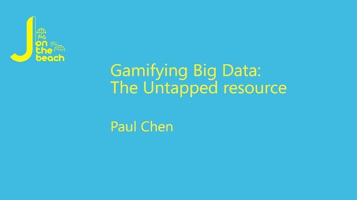 Gamifying Big Data: The Untapped resource