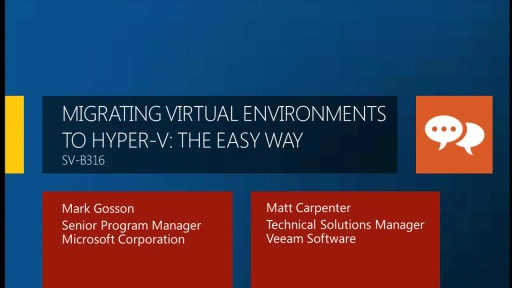 Migrating Virtual Environments to Hyper-V: The Easy Way