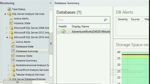 Monitoring of the SQL Server 2014 with System Center