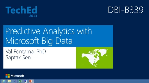 Predictive Analytics with Microsoft Big Data