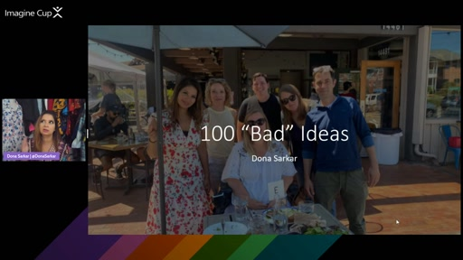Actionable Ideation: How to use the 100 Bad Ideas Framework to Find Your BEST Ideas with Dona Sarkar