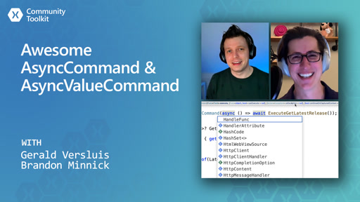 Xamarin Community Toolkit - Awesome AsyncCommand & AsyncValueCommand