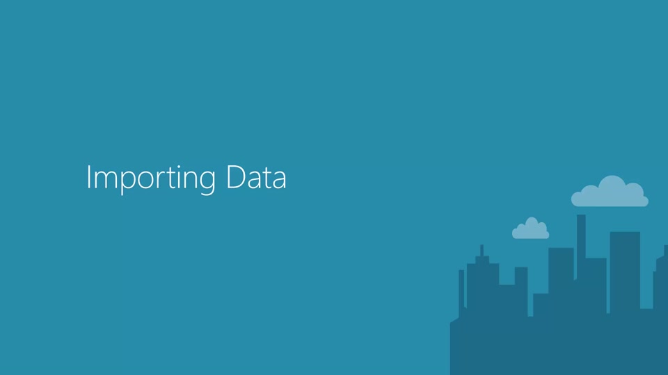 Getting and Saving Data in Azure Machine learning Studio