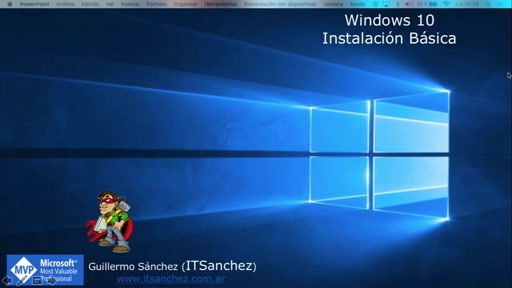Instalación Basica Windows 10