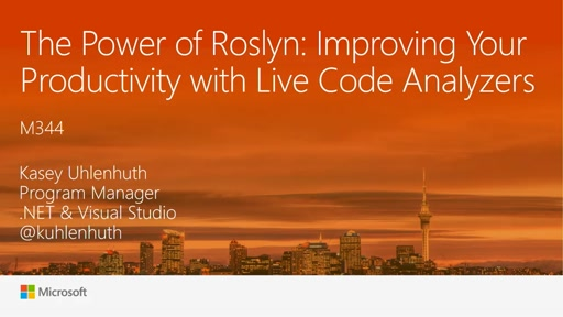 The Power of Roslyn: Improving Your Productivity with Live Code Analyzers