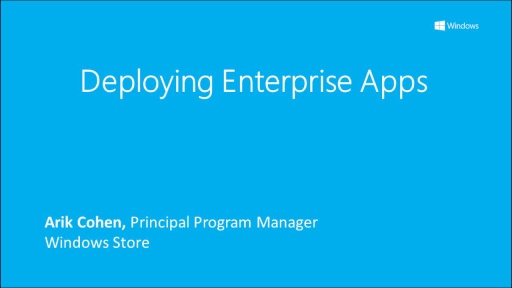 Deploying Enterprise Apps