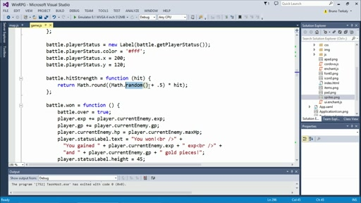 Developing 2D Games with HTML5: (06) Battle System
