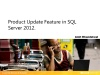 Product Update Feature in SQL Server 2012