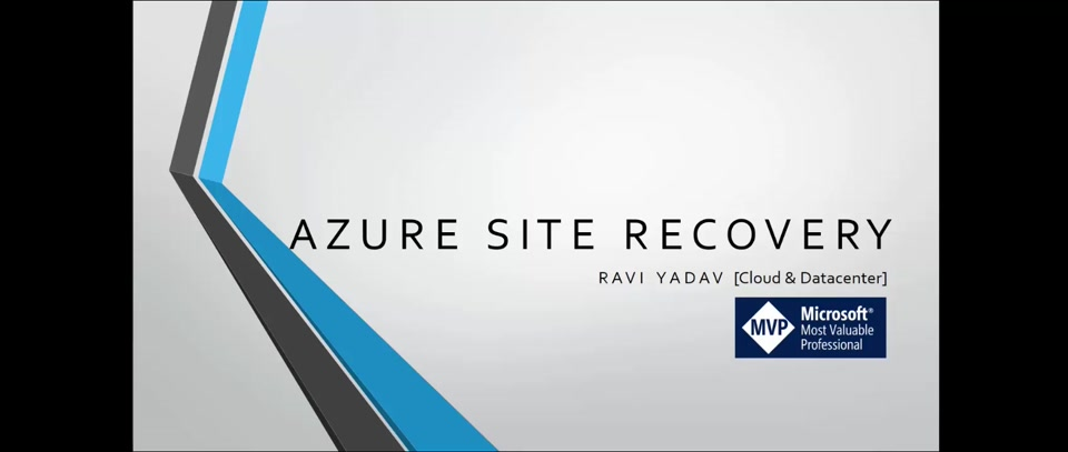 Intro of Azure Site Recovery (ASR)
