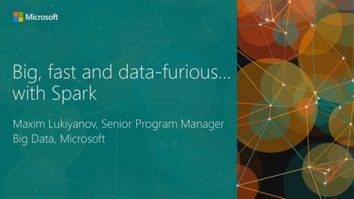 Big, Fast, and Data-Furious…with Spark