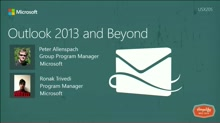 What's New in Outlook 2013 and Beyond