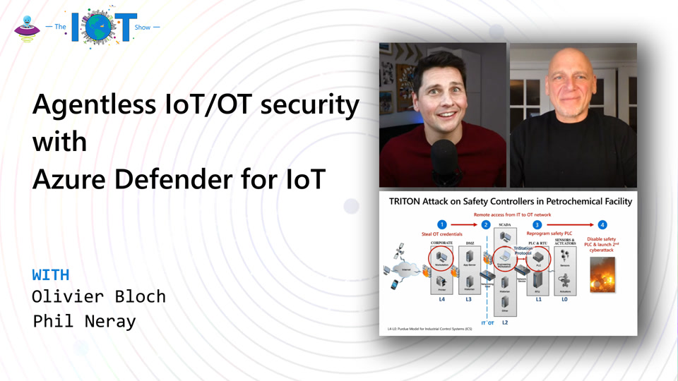 Agentless IoT/OT security with Azure Defender for IoT