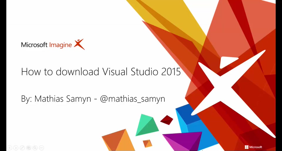 How to download Visual Studio 2015 (NL)