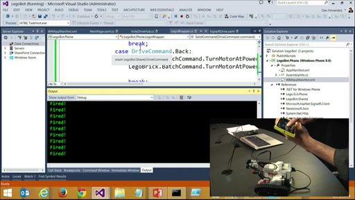 Fun with .NET - Windows Phone, LEGO Mindstorms, and Azure