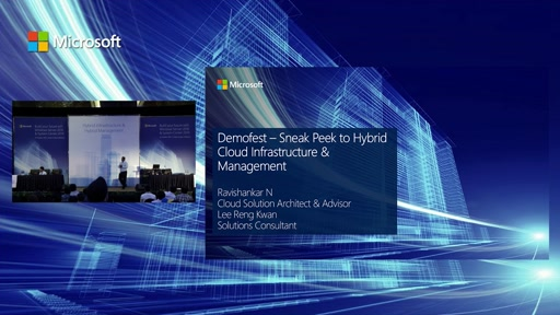 Demofest – Sneak Peek to Hybrid Cloud Infrastructure & Management